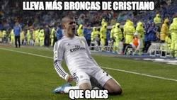 Enlace a Lleva más broncas de Cristiano que goles