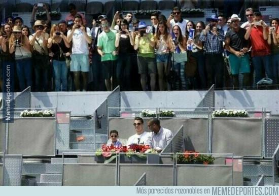314918 - Cristiano genera más espectación que el propio tenis