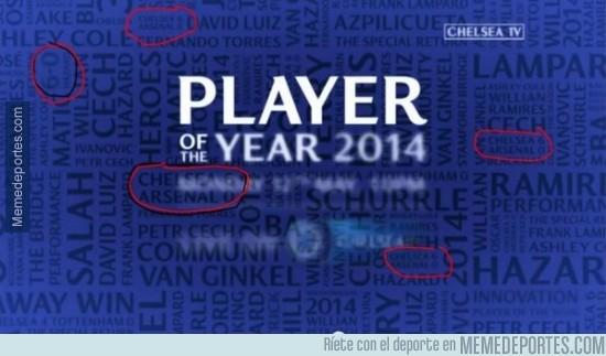 315392 - En el anuncio del jugador del año del Chelsea...¡¡¡CUELAN EL CHELSEA 6-0 ARSENAL!!!