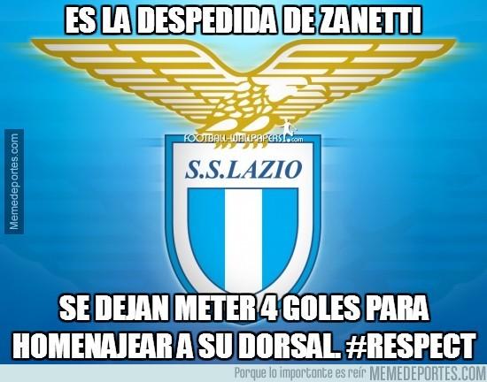 315779 - Es la despedida de Zanetti