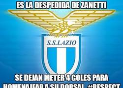 Enlace a Es la despedida de Zanetti