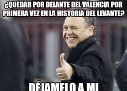 Enlace a ¿Quedar por delante del Valencia por primera vez en la historia del Levante?