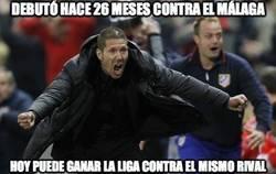 Enlace a Debutó hace 26 meses contra el Málaga