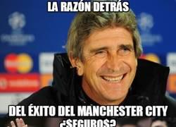 Enlace a La razón detrás del éxito del Manchester City