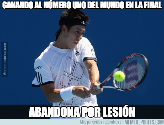 316520 - Bad Luck Kei Nishikori