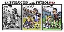 Enlace a Evolución del fútbol