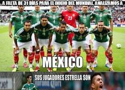 Enlace a A falta de 31 días para el inicio del Mundial, analizamos a México