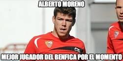 Enlace a Alberto Moreno, mejor del Benfica hasta ahora