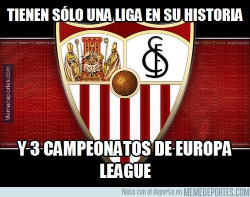 318007 - Sevilla, con más Europa Leagues que ligas. Increíble