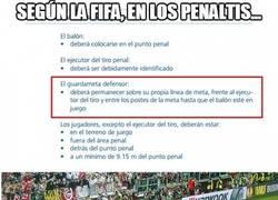 Enlace a Según la FIFA, en los penaltis...