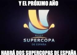 Enlace a Tendremos dos supercopas de España