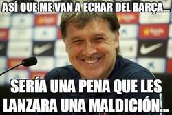Enlace a Así que me van a echar del Barça...