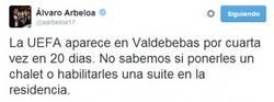 Enlace a Esto piensa Arbeloa sobre los controles de la FIFA