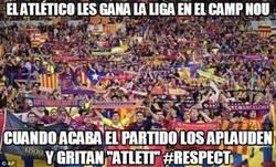 Enlace a El Atlético les gana la liga en el Camp Nou