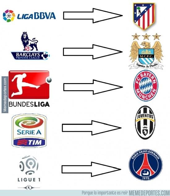 319479 - Finalmente, estos son los campeones de las principales ligas europeas