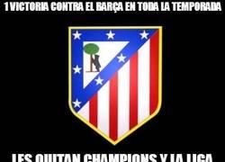 Enlace a 1 victoria contra el Barça en toda la temporada