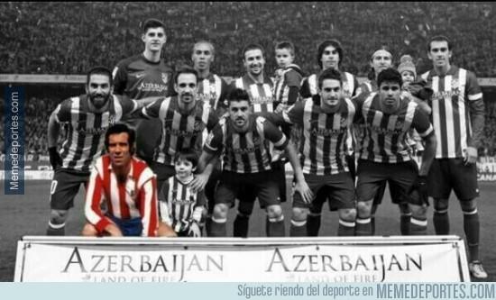 319619 - Ésta fue la verdadera formación del Atlético