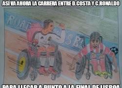 Enlace a Así va ahora la carrera entre Diego Costa y Cristiano Ronaldo