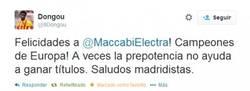 Enlace a Ojo al tweet del canterano del Barça Dongou