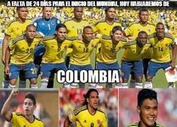 Enlace a A falta de 24 días para el inicio del Mundial, hoy hablaremos de Colombia