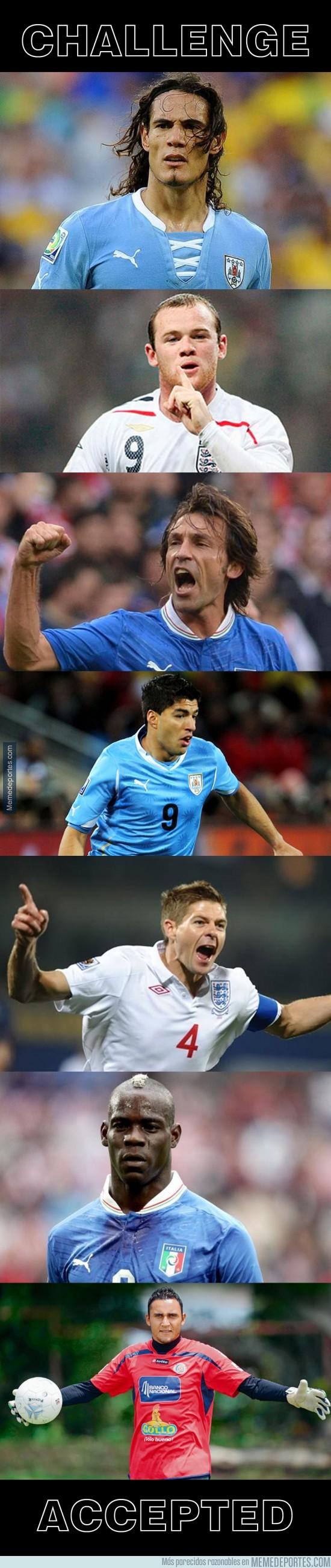321738 - Italia, Inglaterra, Uruguay frente a... Keylor Navas