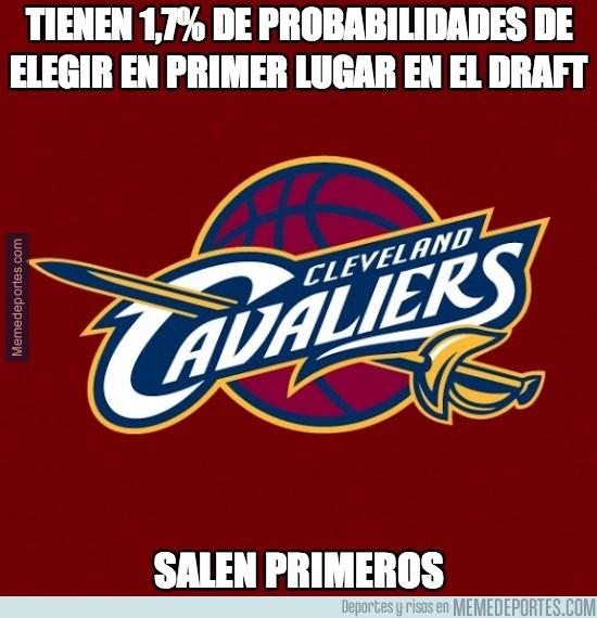 321910 - Los Cleveland Cavaliers elegirán en el número uno del draft