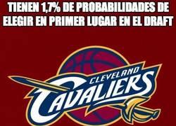 Enlace a Los Cleveland Cavaliers elegirán en el número uno del draft