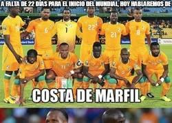 Enlace a A falta de 22 días para el Inicio del Mundial, hoy hablaremos de Costa de Marfil