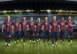 Enlace a En mis tiempos, Messi era de los más bajitos del Barça