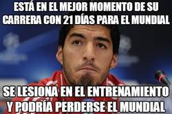 Enlace a Vamos, Suárez, no puedes lesionarte con el mundial a la vuelta de la esquina