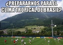 Enlace a La preparación de Alemania ¿Prepararnos para el clima tropical de Brasil?