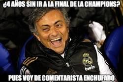 Enlace a Mourinho 'jugará' la final de Champions como comentarista