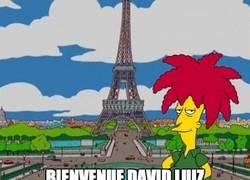 Enlace a David Luiz en el P$G