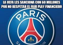 Enlace a La UEFA les sanciona con 60 millones por no respetar el fair play financiero