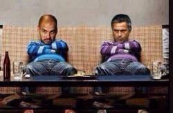 Enlace a Pep y Mourinho listos para la final de la Champions