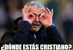 Enlace a Cristiano desaparecido durante la primera parte #FinalChampions