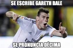 Enlace a Se escribe Gareth Bale