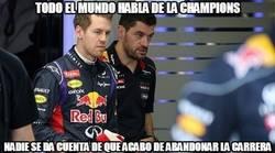 Enlace a Vettel se queda sin turbo