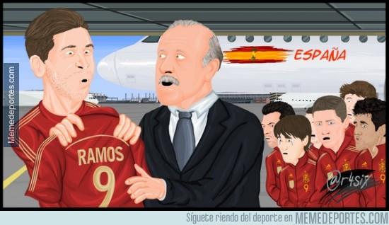 324582 - A partir de ahora Ramos es el 9 de España