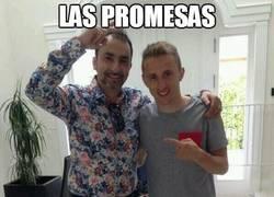 Enlace a Modric con el pelo corto tras cumplir su promesa. Sigue siendo difícil de ver