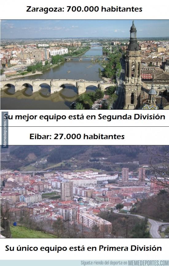 325288 - Verdaderamente, lo de Eibar tiene aún más mérito comparándolo con otras ciudades grandes