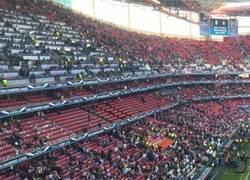 Enlace a Lionel Messi, un madridista más en el estadio Da Luz