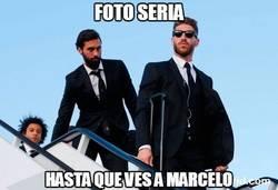 Enlace a Intento de foto seria del Real Madrid