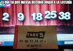 Enlace a El día en que Massa decidió jugar a la lotería
