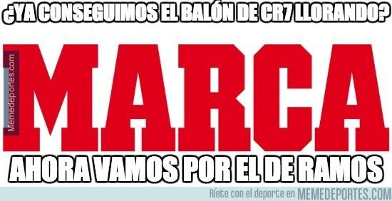 326028 - Empieza la campaña de Marca para el balón de oro para Ramos