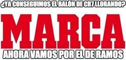 Enlace a Empieza la campaña de Marca para el balón de oro para Ramos