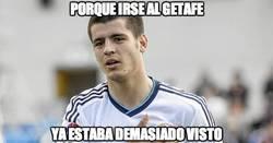 Enlace a Morata, ¿y al Getafe?