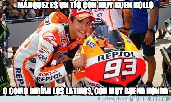 326622 - Marc Márquez da buen rollo