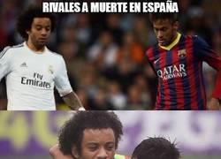 Enlace a Rivales a muerte en España