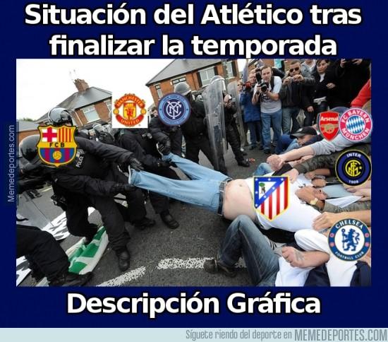 326901 - Situación del Atlético tras finalizar la temporada